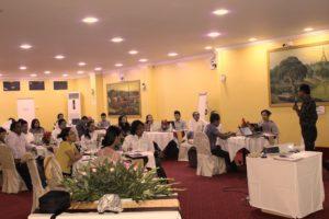 UPR နှစ်လည်အစီရင်ခံစာ ပြင်ဆင်ရေးသားရန်အတွက် အစည်းအဝေး