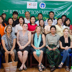 Seeking Reparations for victims of human rights violations in Myanmar: Workshop