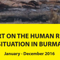 ND-Burma 2016 report finds dramatic increase in human rights violations