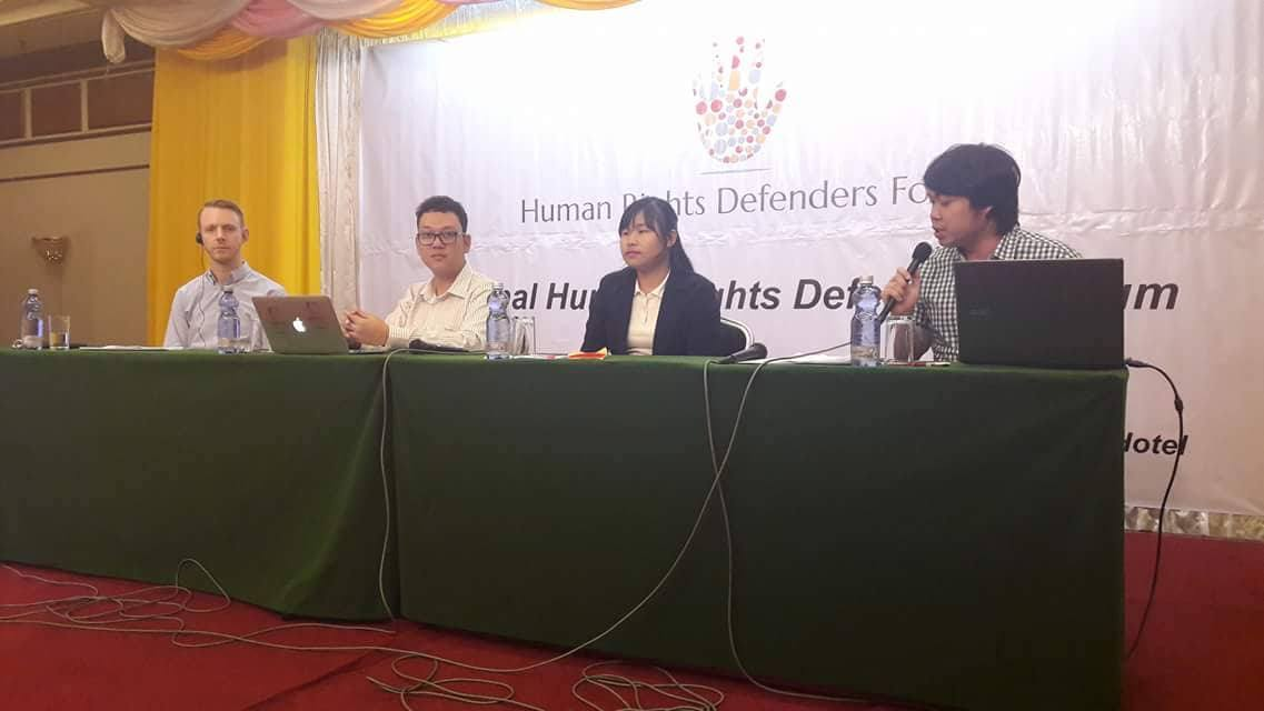 National Human Rights Defender Forum  2017