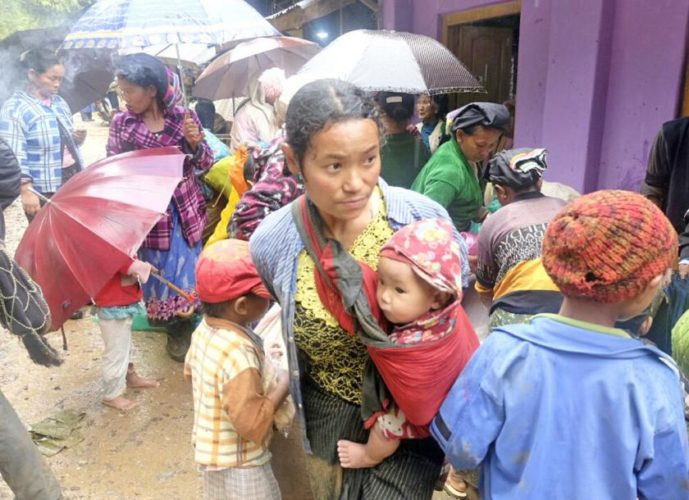 Refugees rise in Kachin, Shan states due to clashes
