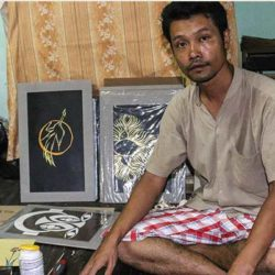 Ex-Political Prisoner Makes Art From Plastic Refuse
