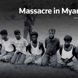 Massacre in Myanmar (A REUTERS SPECIAL REPORT)