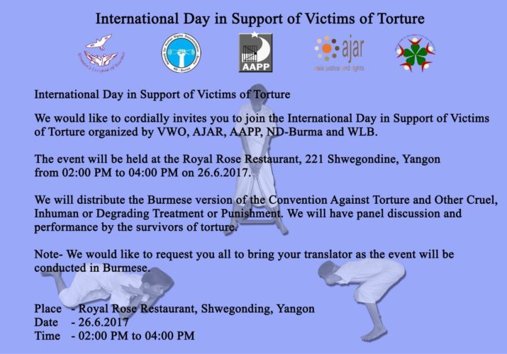 Invitation Letter For International Day In Support Of