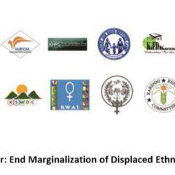 Burma/Myanmar: End Marginalization of Displaced Ethnic Communities