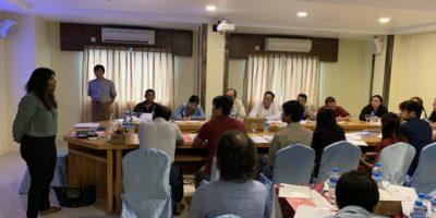 Reparations Working Group Workshop in Yangon