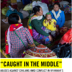 Seeking Justice in Burma  October 2019  Summary Report