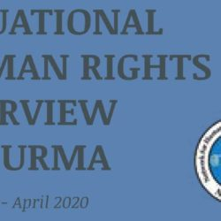 SITUATIONAL HUMAN RIGHTS OVERVIEW IN BURMA (January - April 2020)