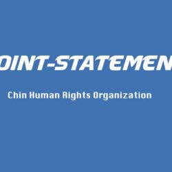 Joint-Statement Civil Society Organizations Calls for Immediate Protection of Civilians in Armed Conflict in Myanmar